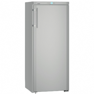 Liebherr KSL3130 Freestanding Comfort Fridge in silver, 144cm